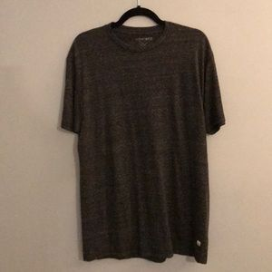Grey plain feathered T-shirt
